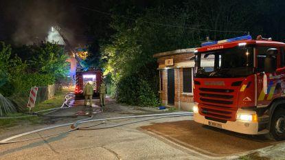 Uitslaande brand vernielt pas gerenoveerde woning