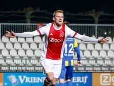 Jong Ajax loopt uit op NEC