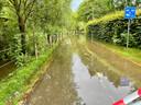 De fietssnelweg in Rotselaar liep volledig onder.