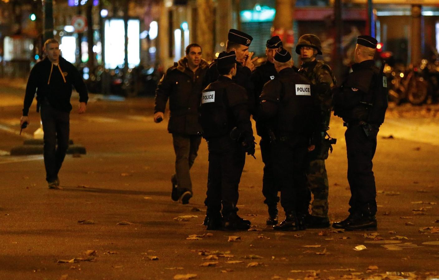 Franse politie na de aanslagen in Parijs
