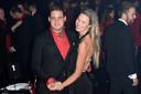 Douwe Bob met zijn ex-vriendin Anouk.