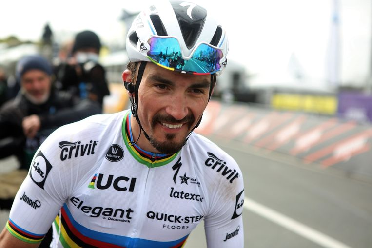 Julian Alaphilippe. Beeld Photo News
