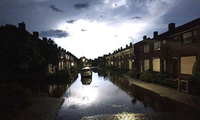 Noodweer boven Nederland zorgt voor overlast
