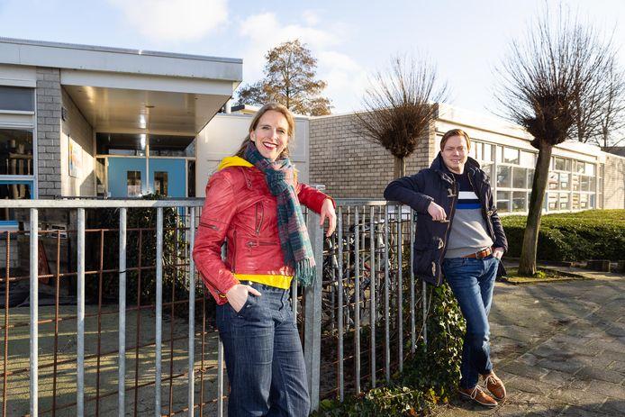 Rose Noël en Robert Nieuwenhuijse staan aan de basis van De Nieuwe Linde, waarvan de kinderen na de zomervakantie in het gebouw van de Molenhoek trekken.
