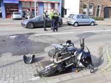 Motorrijder gewond door botsing met auto in Nijmegen
