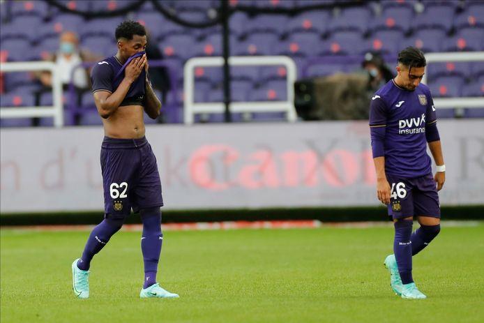 Défaite surprise d'Anderlecht face au promu de l'Union.