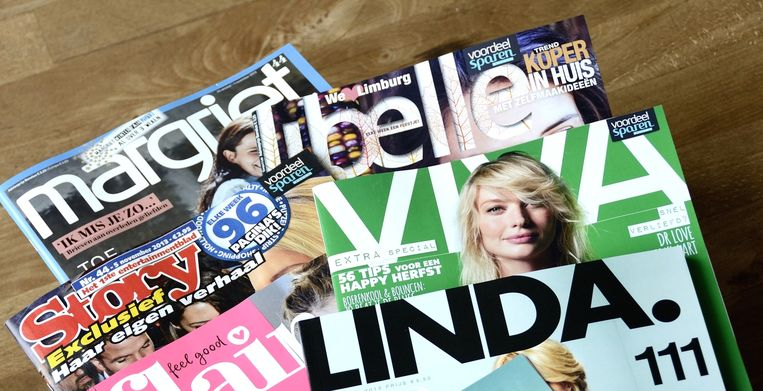 Vooral de vrouwenbladen zijn belangrijk voor het nieuwe Sanoma. Beeld ANP
