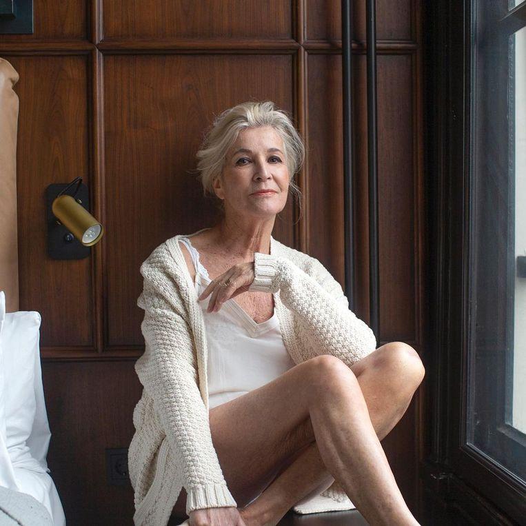 Anne Bosch: 'Je staat als granfluencer stevig in je – hippe – sneakers.' Beeld rv
