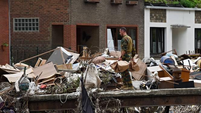 """Leger blijft langer in Waals rampgebied: """"Blijven zo lang als nodig of gewenst is"""""""