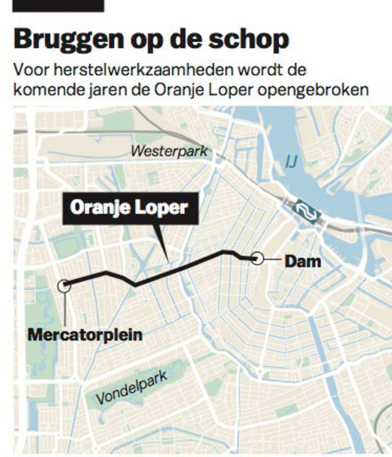 - Beeld Maps4News © LVDB/Het Parool