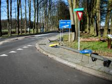 Automobiliste gewond door botsing met lantaarnpaal in De Steeg