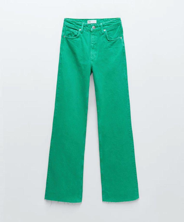 Wide leg jeans van de Zara Beeld Zara