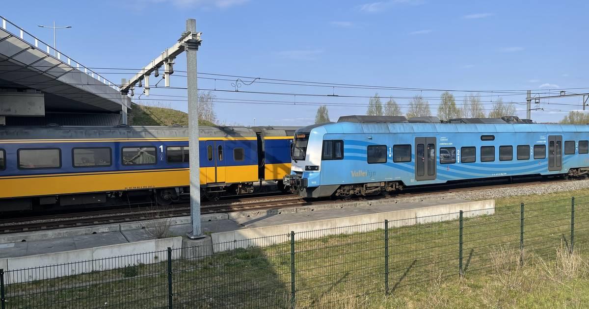 Geen treinen tussen Amersfoort, Ede-Wageningen en Apeldoorn door aanrijding.