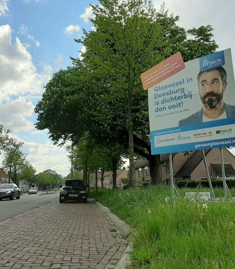 Glasvezeloffensief: ook blauwe dino in Doesburg