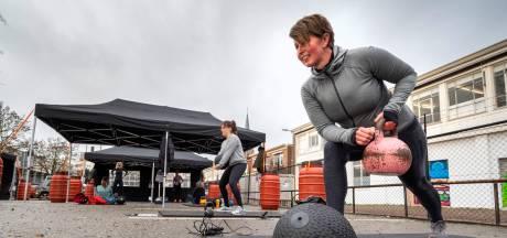 Hardlopen met obstakels door hartje Arnhem