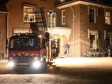 Brand in studentenhuis in Nijmegen begint bij plafondspotje