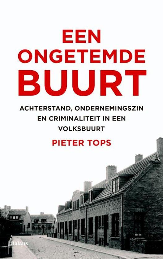 De cover van het winnende boek: Een ongetemde buurt