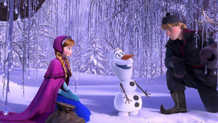 Een scène uit de Disneyfilm 'Frozen'. Beeld AP