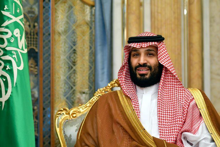 Kroonprins van Saoedi-Arabië, Mohammad bin Salman. Beeld AP