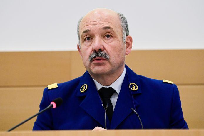 André Desenfants zette als baas van de luchthavenpolitie een stap opzij na de zaak-Chovanec, maar keerde na drie maanden terug.