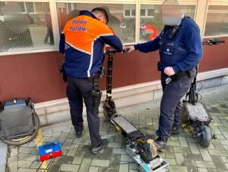 Tot 109 km/uur: politie neemt opgevoerde steps en monowheel in beslag