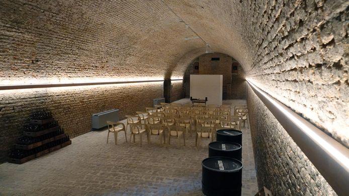 De brouwerij heeft ook een zaal waar tijdens het feestweekends de optredens zullen plaatsvinden.