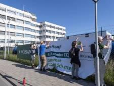 Oproep klimaatactivisten in Hengelo aan regering om Nobian onder druk te zetten