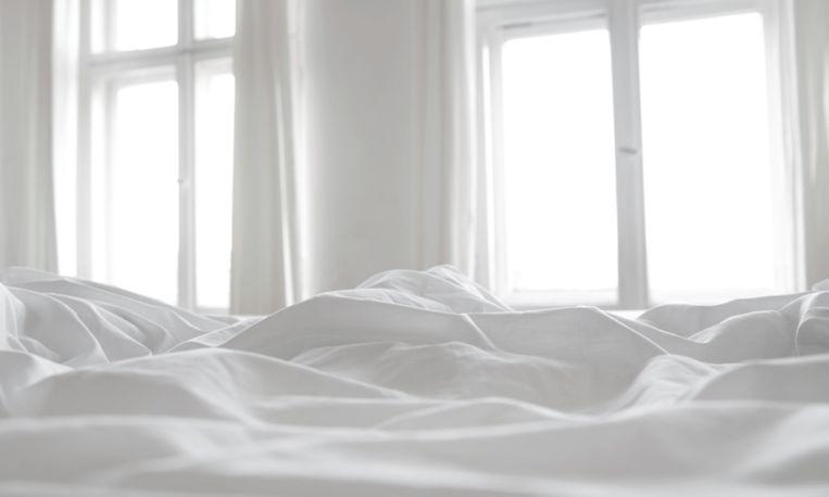 Deze man vond de perfecte oplossing tegen ruzies over de helft van het bed