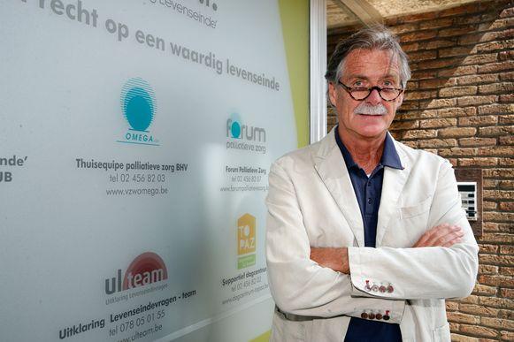Euthanasie-expert Wim Distelmans.