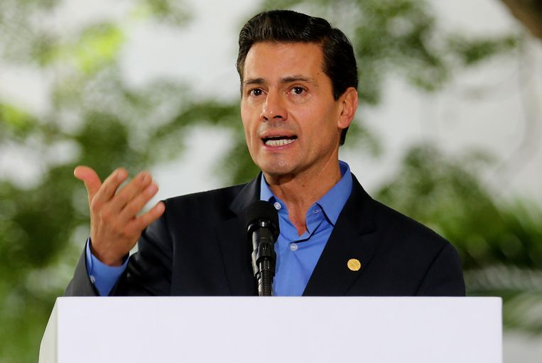 Oud-president Peña Nieto van Mexico.