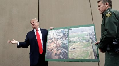 Federaal rechter stopt Trumps plannen voor bouw muur aan grens met Mexico