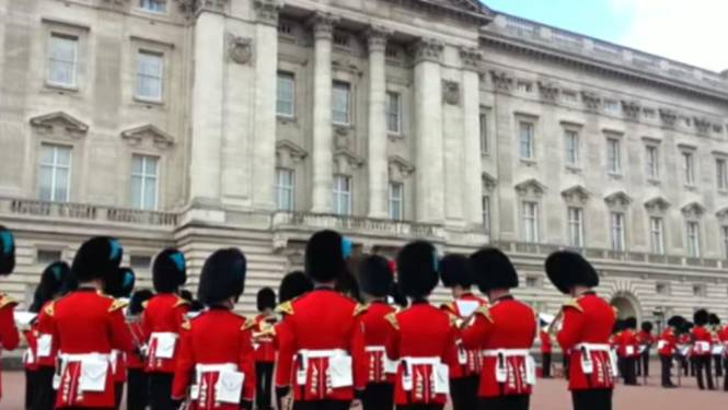 Game of Thrones aan Buckingham Palace