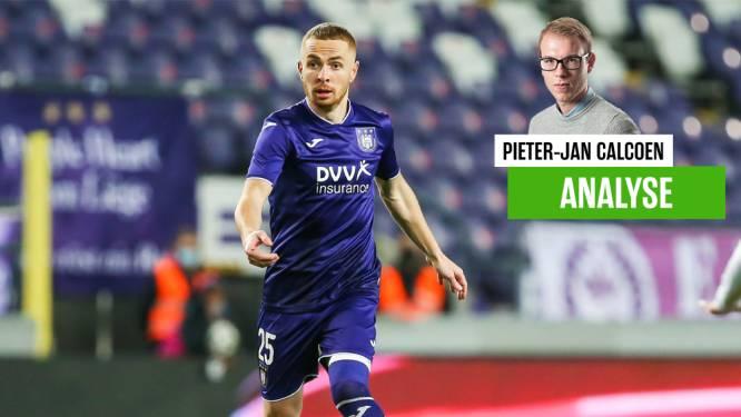 """Onze Anderlecht-watcher zag dat Trebel alomtegenwoordig was: """"Het is bizar dat hij zo lang genegeerd is"""""""