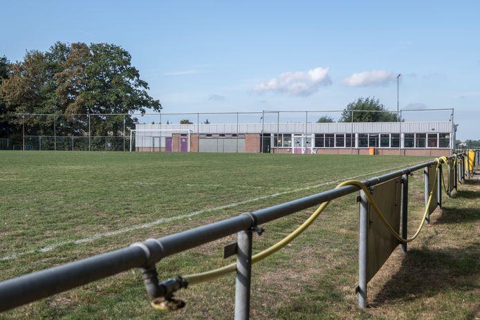 Het voormalige voetbalveld van Terhole.