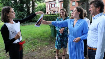 Zesdejaars Sint-Jozefcollege krijgen diploma na reis doorheen de tuin