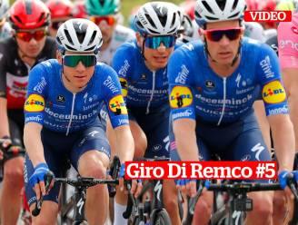 Giro di Remco #5. Energie sparen voor Remco Evenepoel in verraderlijke finale