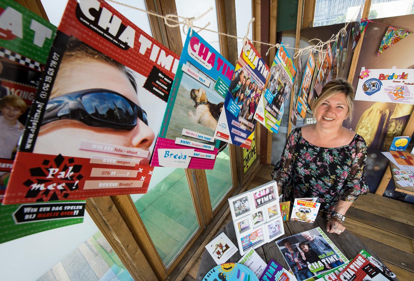 Lidia van Hooijdonk, geestelijk moeder en hoofdredacteur van ChaTime.