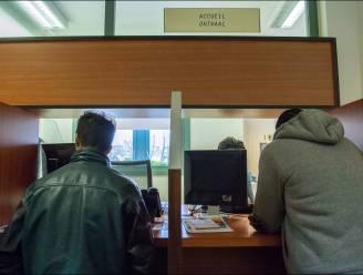 Eén werkloze op twee zoekt niet actief naar werk