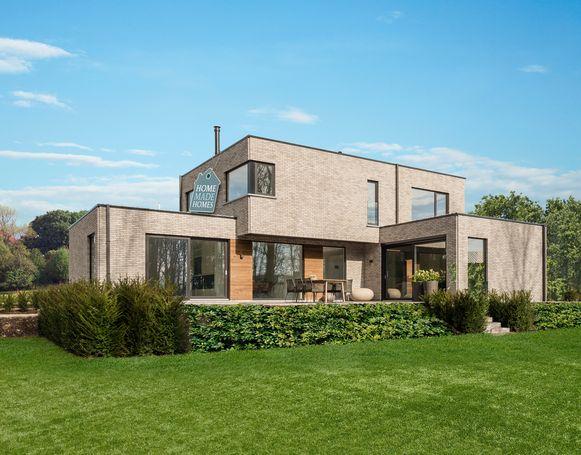 Danilith bouwt volgens hun eigen, unieke Home made Homes-principe: de volledige structuur van de woning wordt in het atelier samengesteld en afgewerkt.