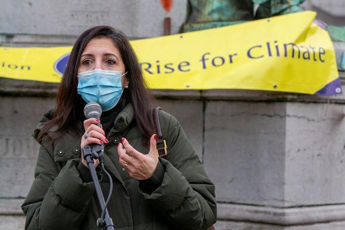 """Zakia Khattabi (Ecolo), la ministre du Climat, de l'Environnement, du Développement durable et du Green Deal: """"Les questions environnementales et climatiques sont polluées par un agenda nationaliste""""."""