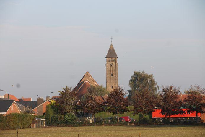 De kerk op 't Veld.