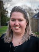 Nicki Duistermaat-Van Moerkerk, moeder van de vorig jaar met een hartafwijking geboren Vayen.