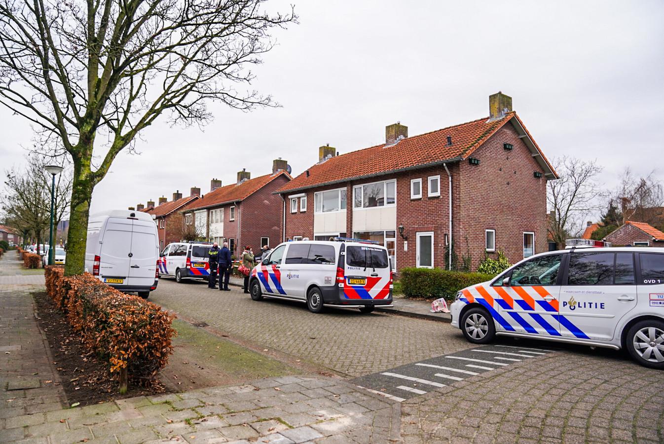 Man overvallen in een woning aan de Servaasstraat in Lieshout.