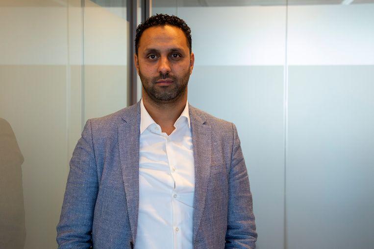 Advocaat Khalid Kasem is door de Amsterdamse deken niet schuldig verklaard aan het lekken van informatie. Beeld Hollandse Hoogte /  ANP