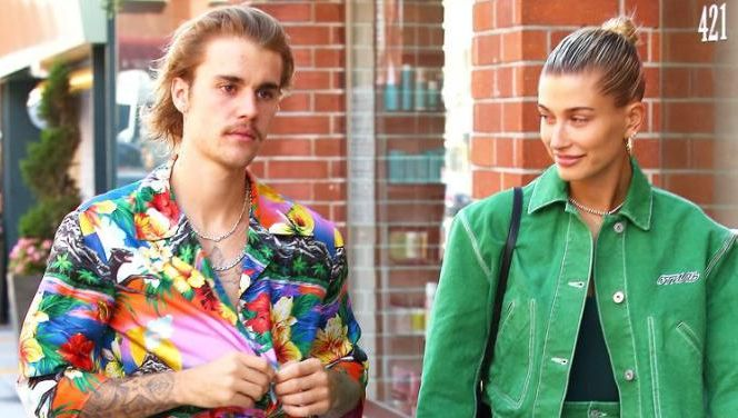 Justin Bieber et sa fiancée Hailey Baldwin