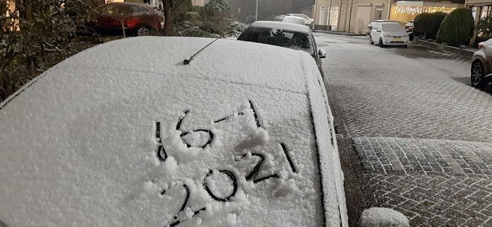 Sneeuw in Lindenholt (Nijmegen)