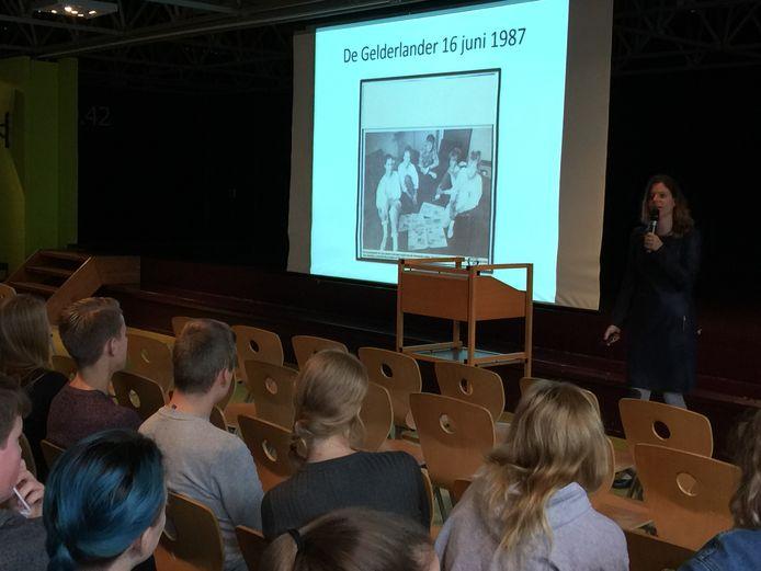 Judith Rosmalen doceert