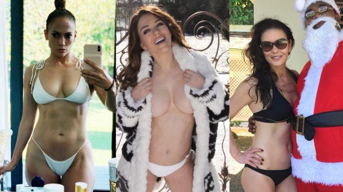 Jennifer Lopez, Elizabeth Hurley en Catherine Zeta-Jones