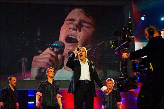 Johnny Logan won exact 40 jaar geleden voor het eerst het Eurovisie Songfestival. Een jubileum in mineur.