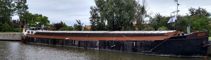 Museumschip Tordino ruilt Beernem voor Oudenburg